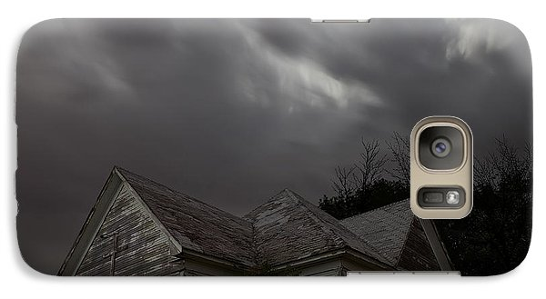 Galaxy Case featuring the photograph Abandoned Church Of Walters Oklahoma by Keith Kapple