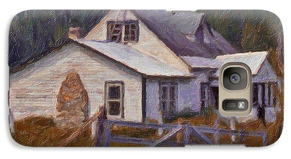 Galaxy Case featuring the digital art Abandoned Farm House by Richard Farrington