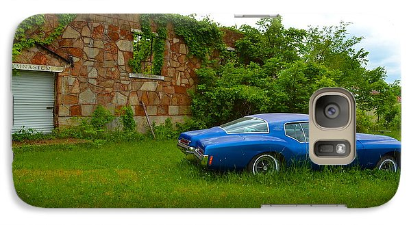 Galaxy Case featuring the photograph Abandoned Gym And Car by Utopia Concepts