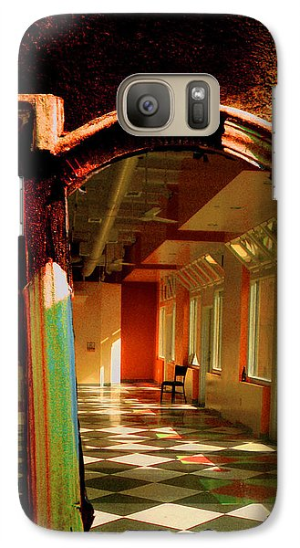 Galaxy Case featuring the photograph Abandoned In Hollywood by John Fish