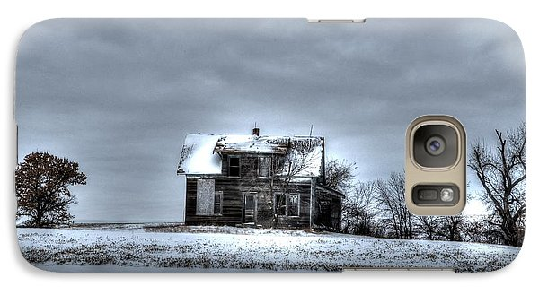 Galaxy Case featuring the photograph Abandoned  by Kevin Bone