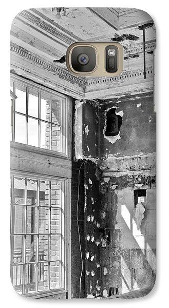 Galaxy Case featuring the photograph Abandoned Memories by Davina Washington