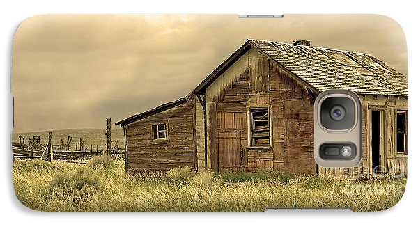 Galaxy Case featuring the photograph Abandoned by Nick  Boren