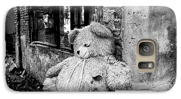 Galaxy Case featuring the photograph Abandoned Teddy Bear II by Dean Harte