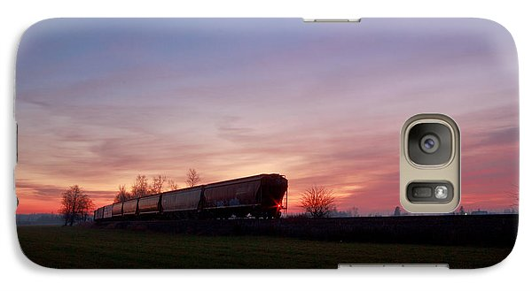 Galaxy Case featuring the photograph Abandoned Train  by Eti Reid