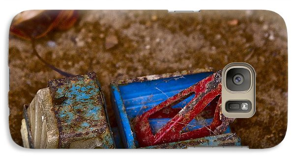 Galaxy Case featuring the photograph Abandoned Truck by Xn Tyler
