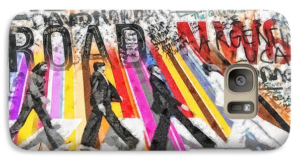 Mo Galaxy S7 Case - Abbey Road by Mo T