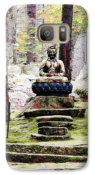 Galaxy Case featuring the photograph Abby Aldrich Buddha by Lizi Beard-Ward
