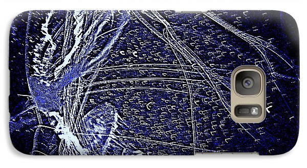 Galaxy Case featuring the photograph Aberration Of Jelly Fish In Rhapsody Series 3 by Antonia Citrino