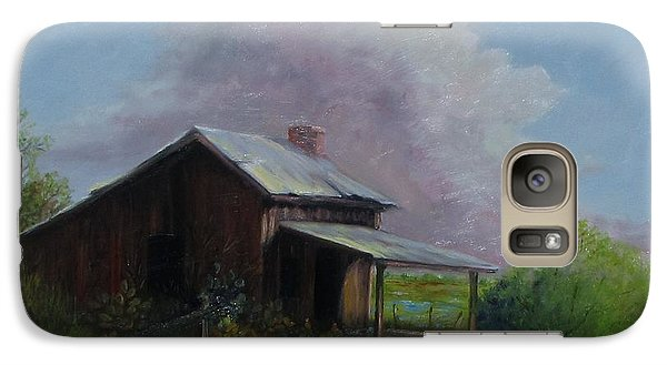 Galaxy Case featuring the painting Abondoned Memories  by Gene Gregory
