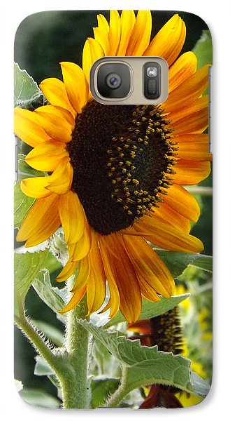 Galaxy Case featuring the photograph About Face by Elizabeth Sullivan