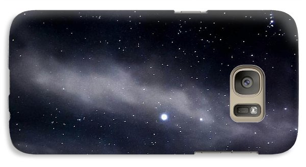 Galaxy Case featuring the photograph Above by Angela J Wright