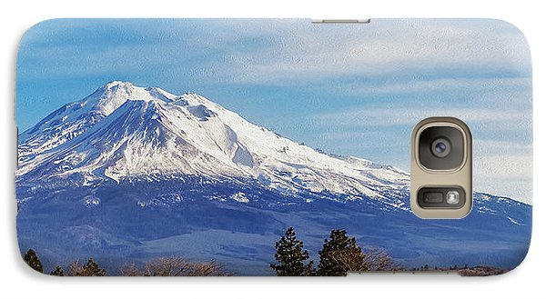 Galaxy Case featuring the photograph Above It All by Nancy Marie Ricketts