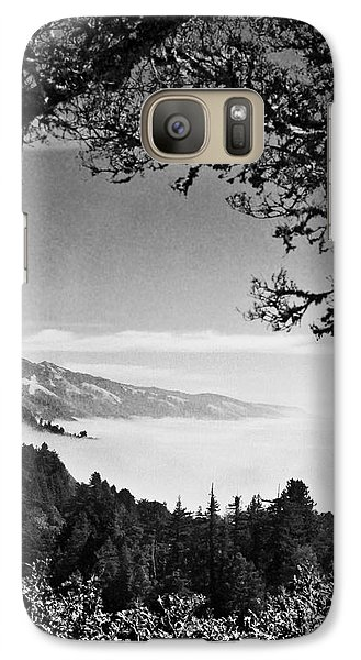 Galaxy Case featuring the photograph Above Nepenthe In Big Sur by Joseph J Stevens