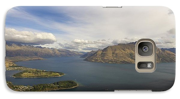 Galaxy Case featuring the photograph Above Queenstown #2 by Stuart Litoff