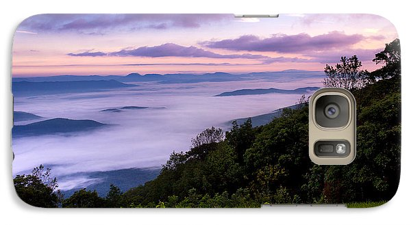 Galaxy Case featuring the photograph Above The Clouds by Everett Houser