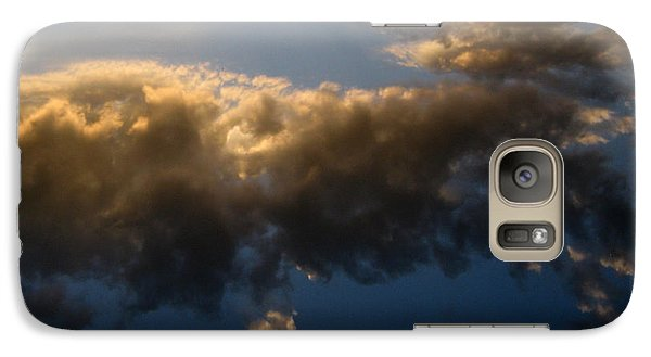 Galaxy Case featuring the photograph Above The Clouds by Janice Westerberg