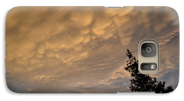 Galaxy Case featuring the photograph Above The Coniferous Tree  by Lyle Crump