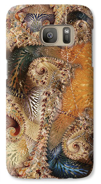 Galaxy Case featuring the digital art Abracadabra by Kim Redd