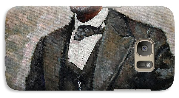 Abraham Lincoln Galaxy Case by Ylli Haruni