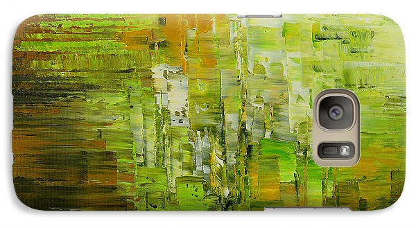 Galaxy Case featuring the painting Absinthe Encore by Tatiana Iliina