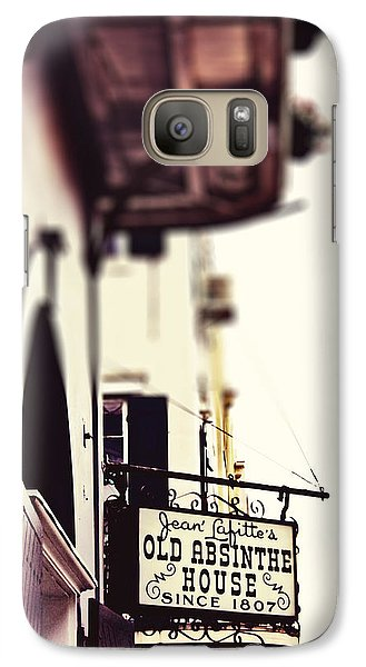 Galaxy Case featuring the photograph Absinthe House by Heather Green