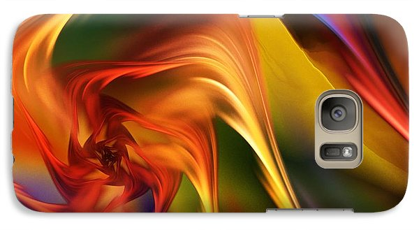 Galaxy Case featuring the digital art Abstract 031814 by David Lane