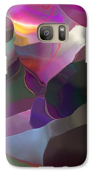 Galaxy Case featuring the digital art Abstract 033014 by David Lane