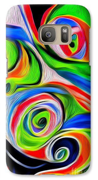 Galaxy Case featuring the digital art Abstract 04 by Gregory Dyer