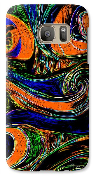 Galaxy Case featuring the digital art Abstract 06 by Gregory Dyer