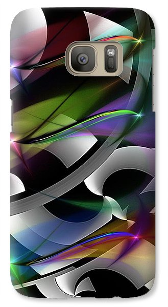Galaxy Case featuring the digital art Abstract 072514 by David Lane
