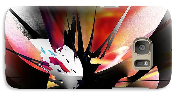 Galaxy Case featuring the digital art Abstract 082214 by David Lane