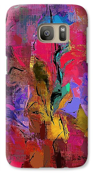 Galaxy Case featuring the digital art Abstract 082313-1 by David Lane