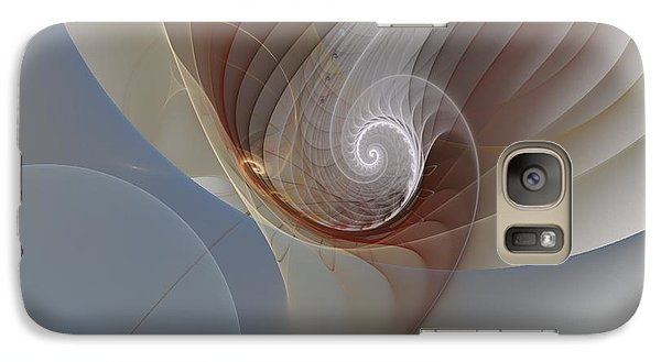 Galaxy Case featuring the digital art Abstract 195 by Linda Whiteside