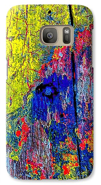 Galaxy Case featuring the photograph Abstract 201 by Nicola Fiscarelli