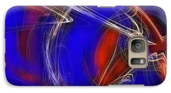 Galaxy Case featuring the digital art Abstract 22 by Mary Armstrong