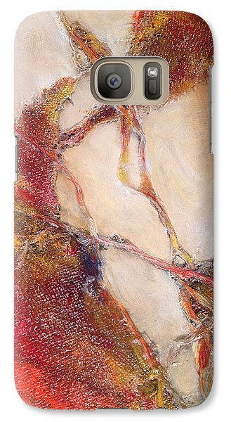 Galaxy Case featuring the painting Conjunction 2 by John  Svenson