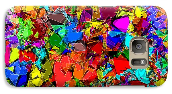 Galaxy Case featuring the digital art Astratto - Abstract 50 by ZeDi
