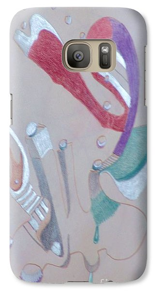 Abstract 9-12 Galaxy S7 Case