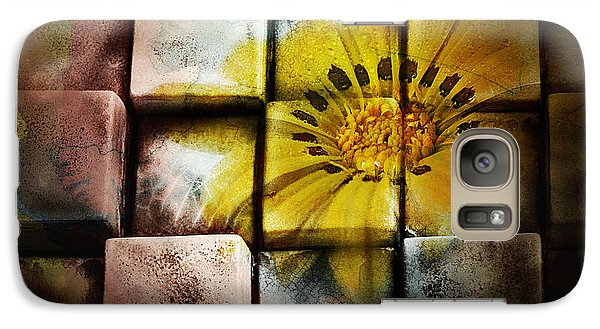 Galaxy Case featuring the photograph Abstract Art 001 by Kevin Chippindall