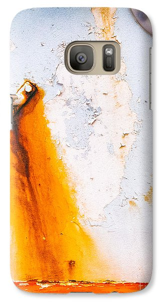 Galaxy Case featuring the photograph Abstract Boat Detail by Silvia Ganora
