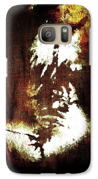 Galaxy Case featuring the digital art Abstract Body by Andrea Barbieri