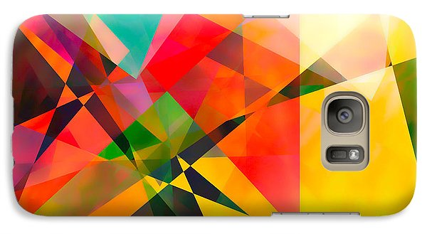 Galaxy Case featuring the digital art Abstract by Bruce Rolff