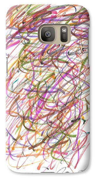 Galaxy Case featuring the painting Abstract Confetti Celebration by Joseph Baril