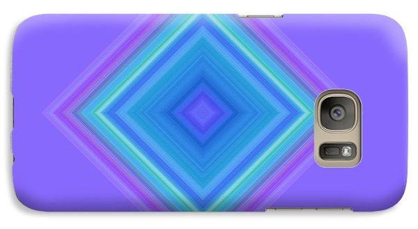 Galaxy Case featuring the digital art Abstract Diamond by Karen Nicholson