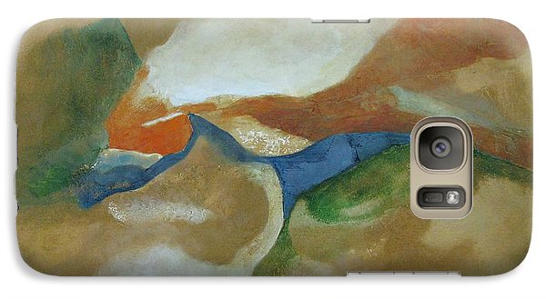 Galaxy Case featuring the painting Abstract Dreams by Riana Van Staden