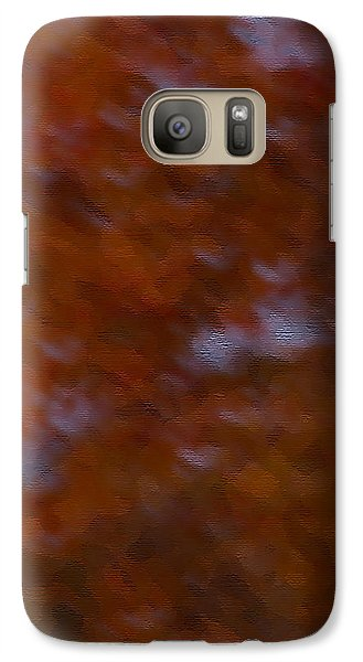 Galaxy Case featuring the photograph Abstract Fall Colors by Haren Images- Kriss Haren