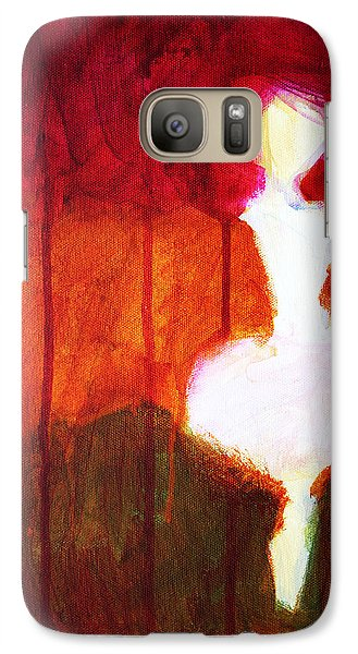 Abstract Ghost Figure No. 2 Galaxy S7 Case