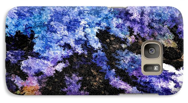 Galaxy Case featuring the photograph Abstract Granite by Ludwig Keck