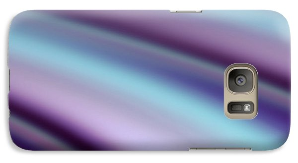 Galaxy Case featuring the digital art Abstract Hues by Liz  Alderdice
